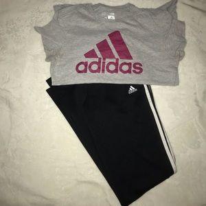 Adidas Top and Jogger Bundle
